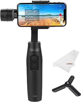 Amazon.com: Moza Mini-MI 3-Axis Smartphone Gimbal Stabilizer ...