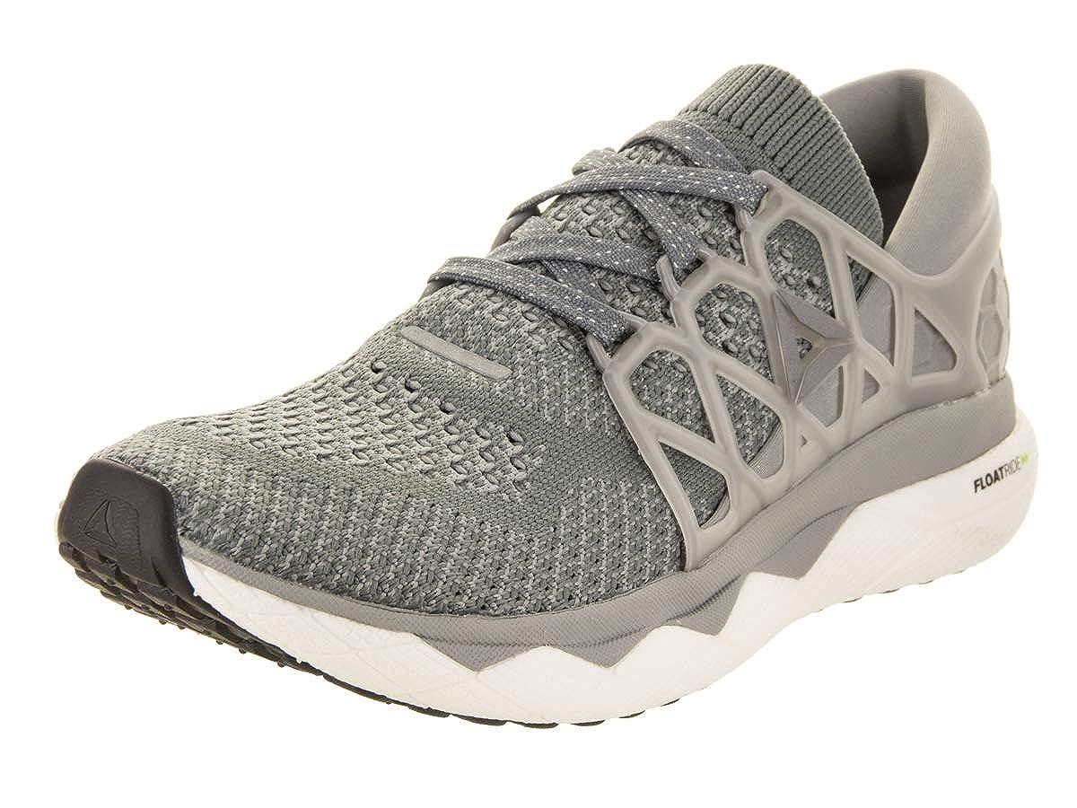 Grey Dust Wht Blk Slvr Reebok Women's Floatride Run Nite Running shoes