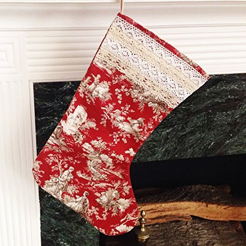 french country christmas stocking - Country Christmas Stockings