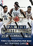 2015 2016 Panini Contenders NBA Draft Picks Basketball Unopened Blaster Box of Packs with 2 Guaranteed Autographs Per Box