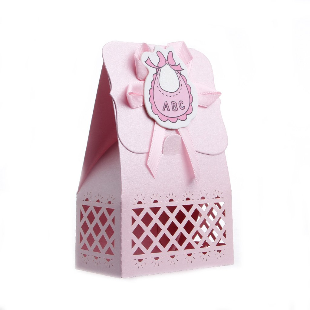 Amazon.com: Hacloser 12Pcs Ribbon Candy Boxes for Baby Newborns ...