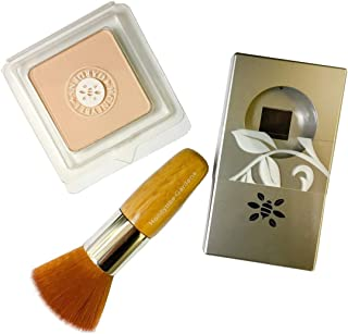product image for Honeybee Gardens First Step to Flawless Foundation Powder, Compact, Brush Set featuring Supernatural (Light Complexion)