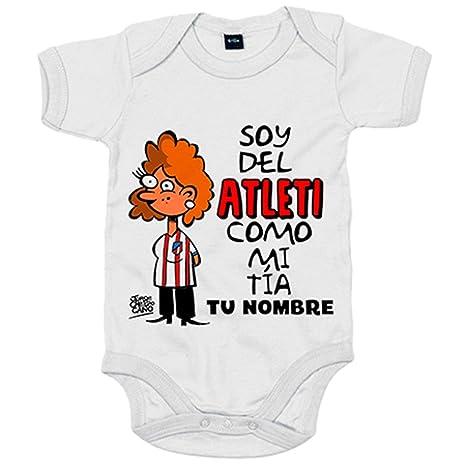 Body bebé soy del Atleti Atlético de Madrid como mi tia ...
