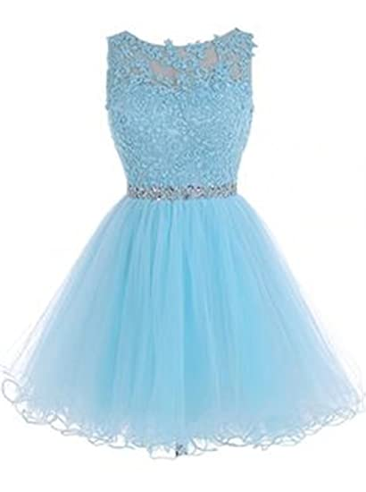 BEJG Womens Short Prom dresses Cocktail Homecoming Dresses Tulle Party Dresses