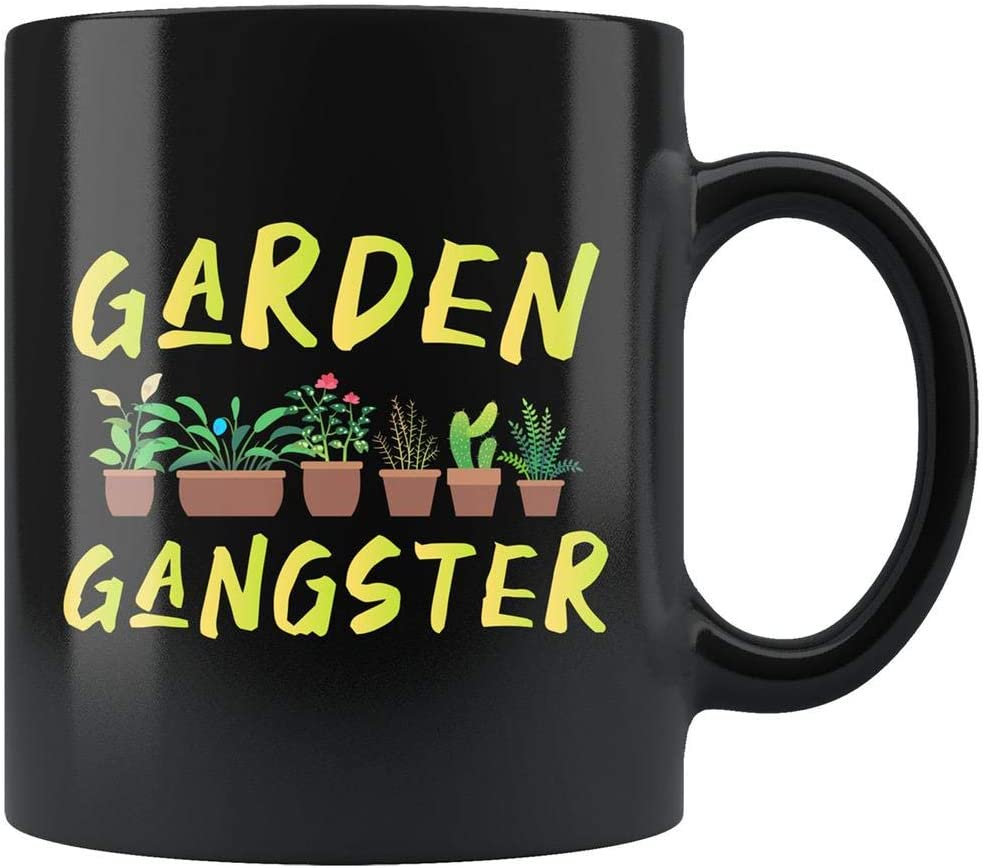 Gardening Mug, Gardening Gift, Gardener Gift, Gardener Mug, Planting Gift, Planting Mug, Farmer Gift, Farmer Mug, Garden Gangster Mug #B