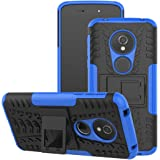 Moto G6 play Case, Moto E5 Case, Moto G6 Forge case, Viodolge [Shockproof] Rugged Dual Layer Protective Phone Case Cover with Kickstand for Motorola Moto G6 Forge/G6 Play (blue)