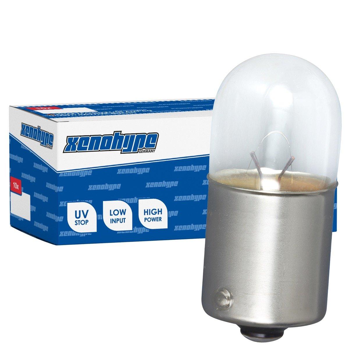 10/x R10/W Xeno Hype Premium BA15S 24/V 10/W Camion Boule Lampe
