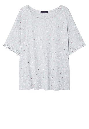 MANGO Cotton polka dot t-shirt Browse Cheap Price Outlet Clearance pJUIJ9
