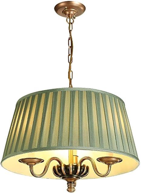 Moderne LED Deckenleuchte Rund Deckenlampe Ø 50 cm Stoff
