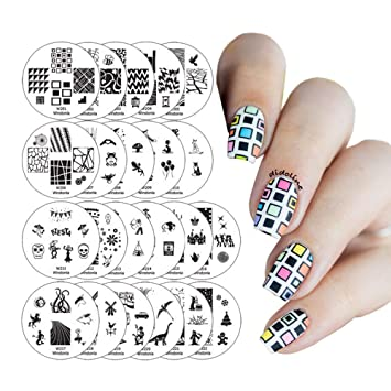 2019 New Hot Sale Diy Nail Art Stamping Stamper With Cap Scraper Plate Transfer Manicure Tools With The Best Service Nail Art Templates