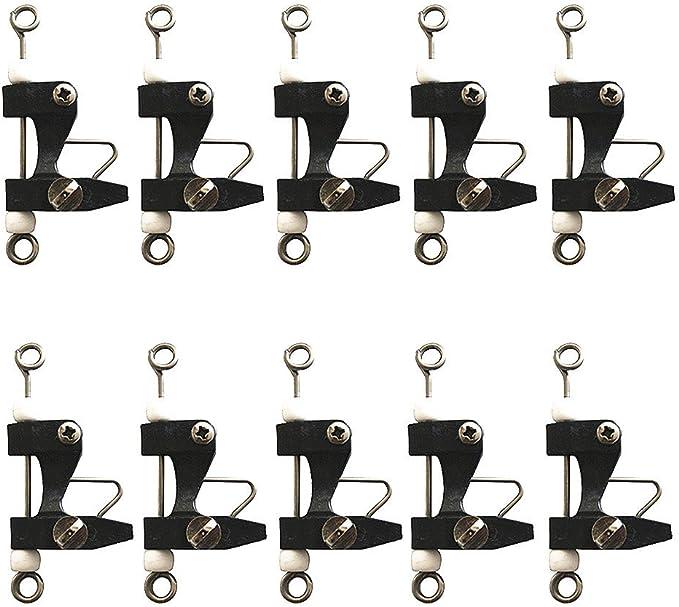Kite Downrigger Outrigger Bimini Lures Outrigger Release Clips Set of 2 adjustable