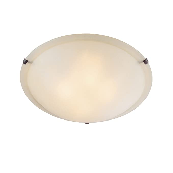 Amazon.com: CAPITAL iluminación 2820 4 luz Flush Mount ...