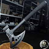 "Blade City Tactical Hammer Axe - Survival & Camping Hatchet Axe - 6 3/4"" x 6 7/8"" Blade"