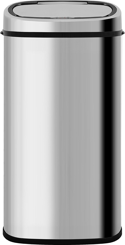 ottostyle.jp センサー全自動開閉式ごみ箱 大容量68L 【シルバー】 ステンレス ふた付き 分別 おむつ 70リットルゴミ袋対応 B07B4WV4FP シルバー シルバー