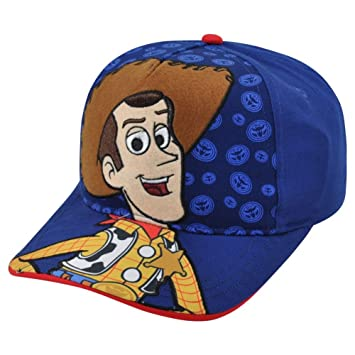 7f1943b6921e7 Disney Pixar Toy Story 3 Woody Hey Howdy Child Adjustable Velcro Blue Hat  Cap  Amazon.ca  Sports   Outdoors