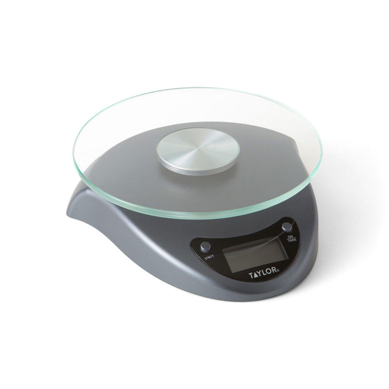 Taylor productos de precisión digital báscula de cocina con plataforma de cristal: Amazon.es: Hogar