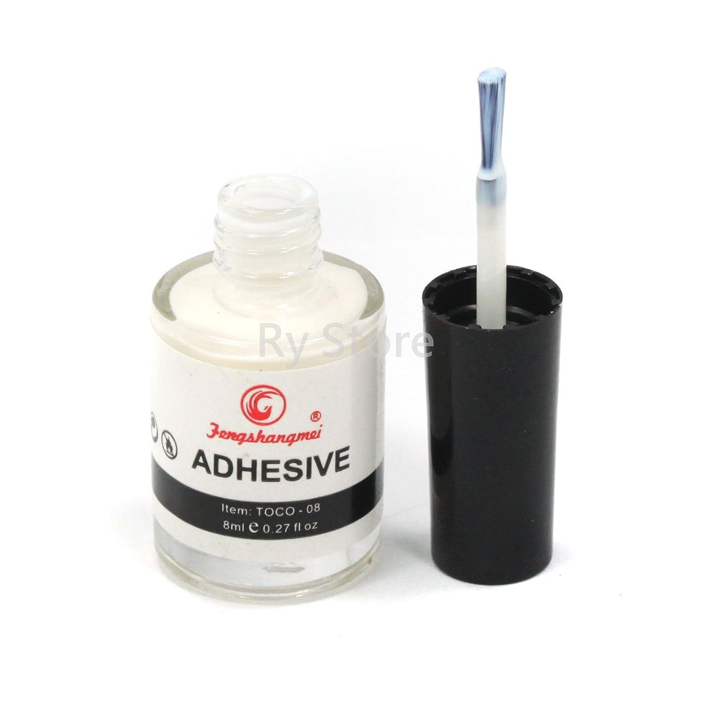 Amazon.com : Professional 2PCS Galaxy Star Nail Art Glue for Foil ...