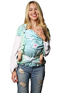 Toddler KOKADI/® TaiTai Federn Emma Babytrage ✓ Neugeborene /& Kleinkinder ✓ Ergonomisch ✓ Steg verstellbar ✓ Bio-Baumwolle ✓ 7-20kg ✓ GRATIS Beutel