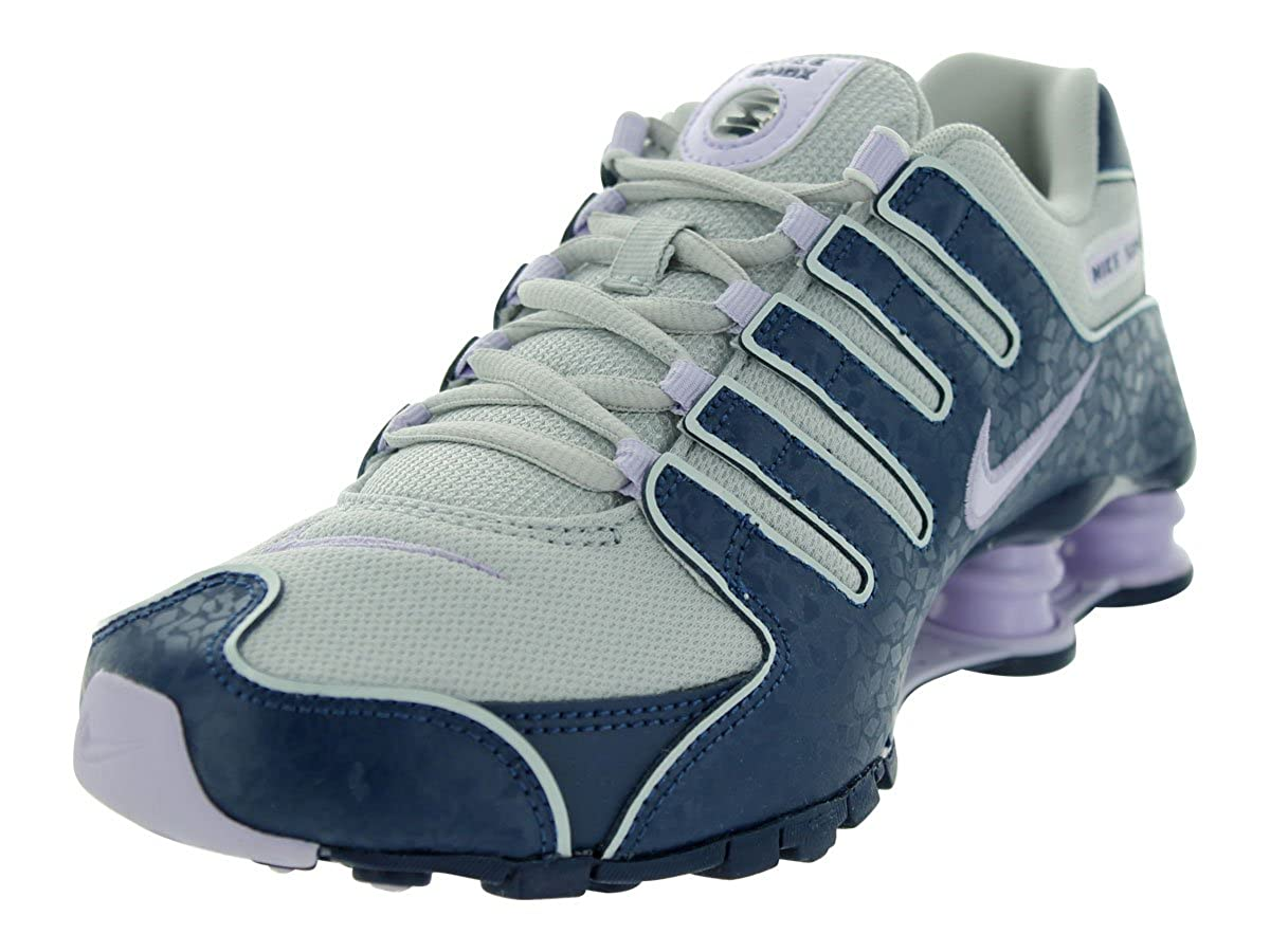 7cceac38727735 Nike SHOX NZ EU Women Sneakers Dusty Grey Brave Blue Summit White Violet  Frost 488312-054  Amazon.ca  Shoes   Handbags
