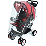Universal Pushchair Stroller Buggy Rain Cover fits hundreds of models