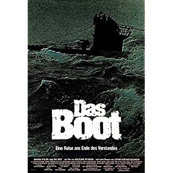 Das Boot  2  German Movie Posters Classic Vintage Films