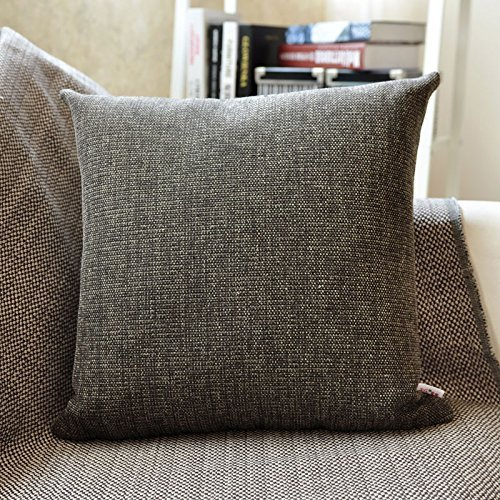 HOMEE Thick Fabrics Pillow Cushion Sofa Bed Pillow Lumbar Pillow Pillow Back Large Automobile Pillow Back by HOMEE