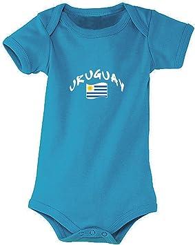 Azul Aqua Supportershop/ Talla Fabricante: 18//–/23/Meses FR: XL /Body Aqua Uruguay Mixta beb/é