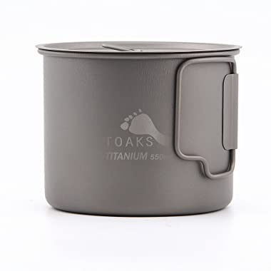 TOAKS Titanium 550ml Pot (New Version)