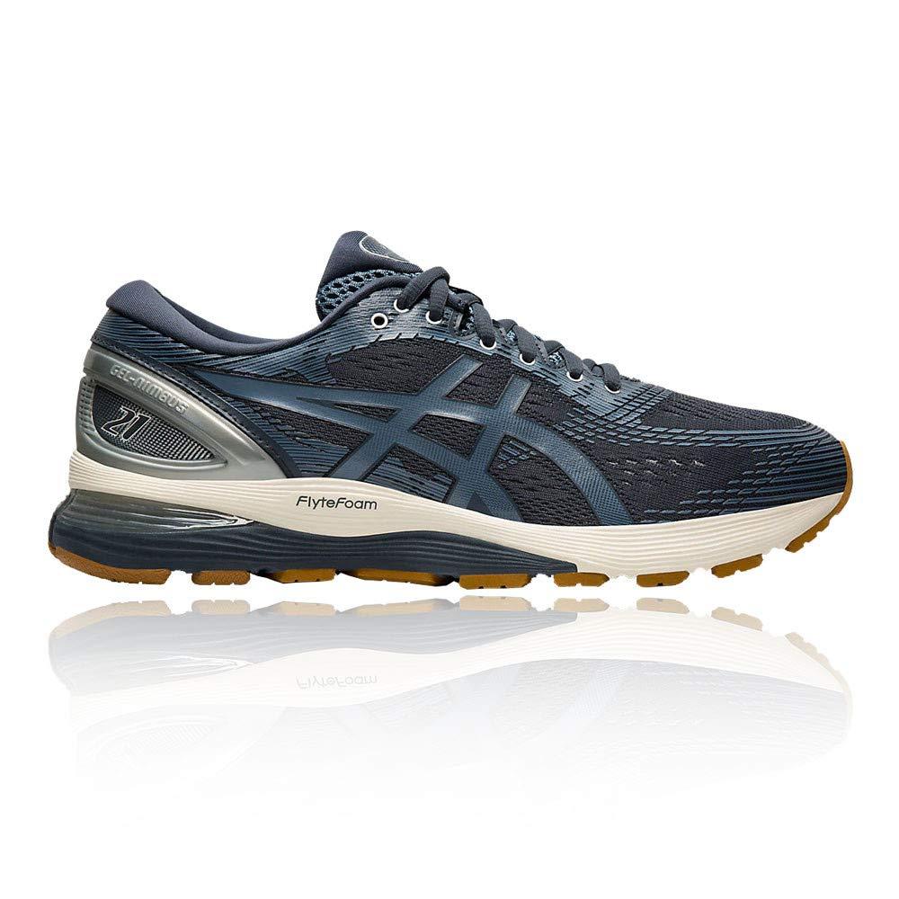MultiCouleure (Tarmac Steel bleu 020) 44.5 EU ASICS Gel-Nimbus 21, Chaussures de FonctionneHommest Compétition Homme