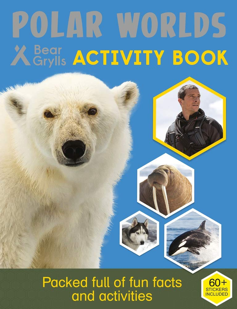 Bear Grylls Sticker Activity: Polar Worlds (Bear Grylls Activity) pdf epub