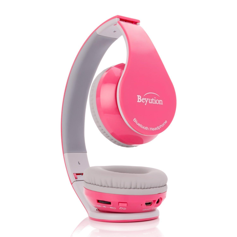 7bb866524c9 Beyution V4.1 Bluetooth Headphones Wireless Foldable Hi-fi Stereo Headphone  for Smart Phones /& Tablets - Black USA Beyond Solution inc BT513 Holiday  ...