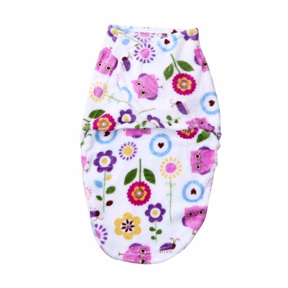 Dreamyth Swaddle,Baby Sleeping Pajamas, Newborn Infant Baby Kids Swaddle Soft Sleeping Blanket Wrap Sleeping Bag
