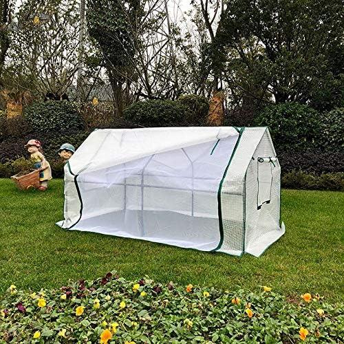 HH- Invernadero Jardín Invernadero con Ventana, Plant Shed Grow House For El Aire Libre, Patio, Terraza, Patio Trasero - 180 × 88 × 90 Cm: Amazon.es: Hogar