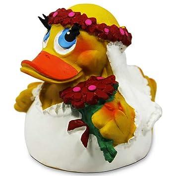 Lanco Brautpaar Quietscheentchen Gummienten Badeenten Quietscheente Entchen Ente