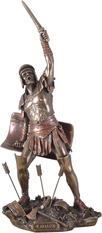 Statua di Gladiatore romano rivolta di Spartaco Veronese