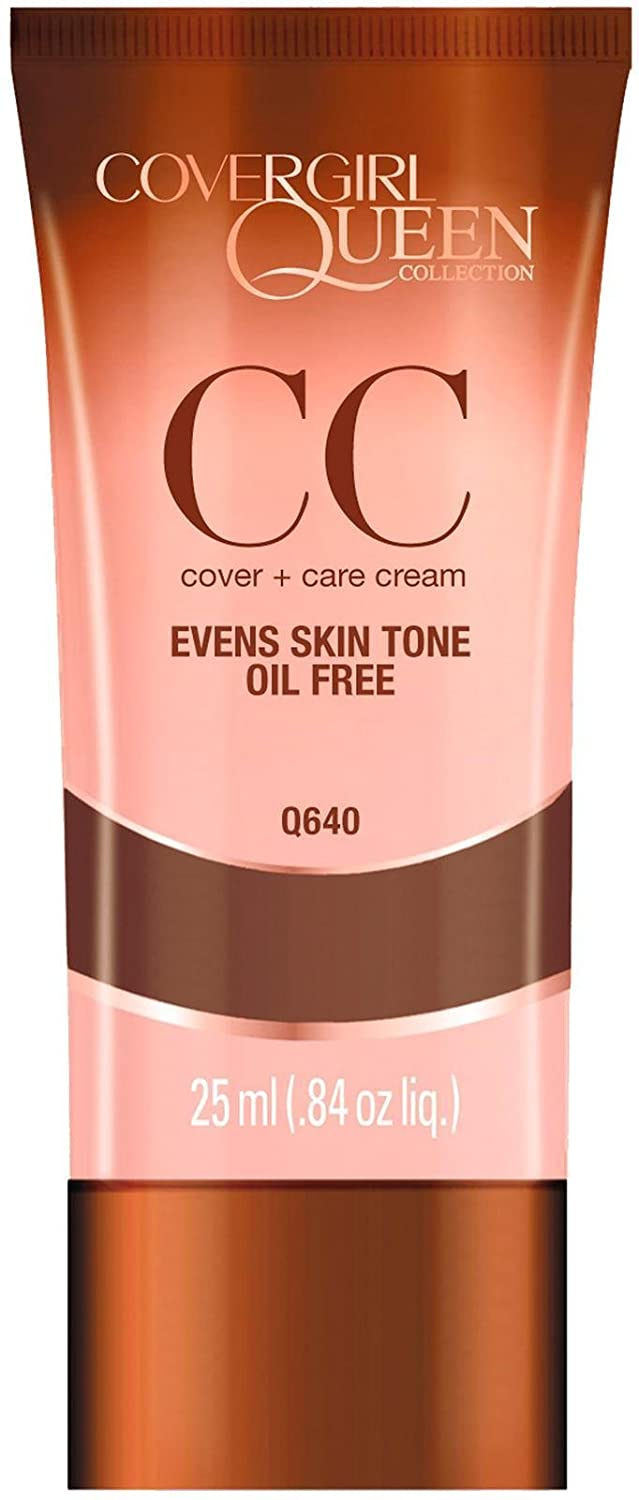 CoverGirl Queen Collection CC Cream, Sheer Espresso Q640 0.84 oz Pack of 2