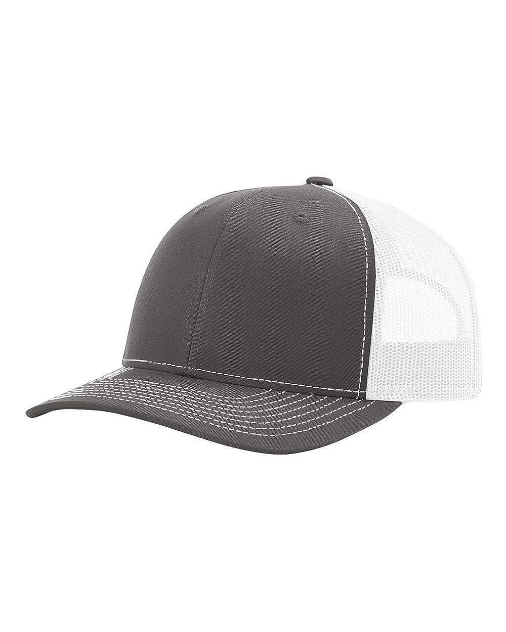 fb370465 Amazon.com: Richardson 115 LOW PRO TRUCKER BLANK BASEBALL CAP HAT: Clothing