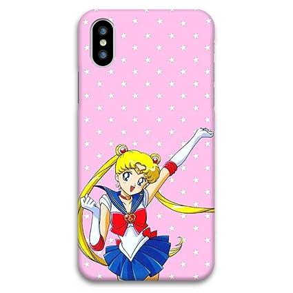 Amazon.com: Sailor Moon iPhone X suave funda o cubierta ...