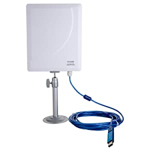 TUOSHI Outdoor High Gain Wi-Fi Antenna   Long Range USB Wi-Fi Extender Antenna for PCs   Support 600Mbps AC 802.11ac Dual Band 2.4 & 5 GHz
