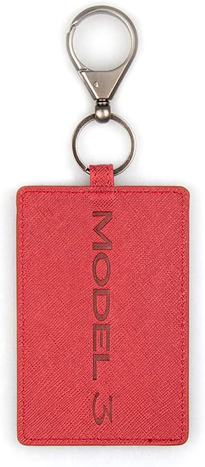 PU Leather Tesla Key Card Wallet with Metal Keychain zowam Tesla Key Card Cover Stylish and Beautiful Tesla Key Card Holder Compatible with Tesla Model 3//Y