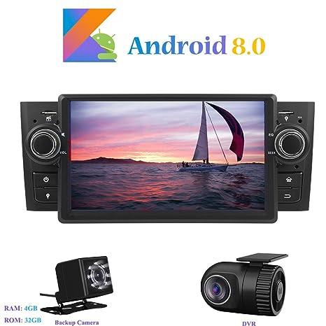 Android 8.0 Autoradio, Hi-azul 1 DIN 7 Pulgadas Radio de Coche 8-