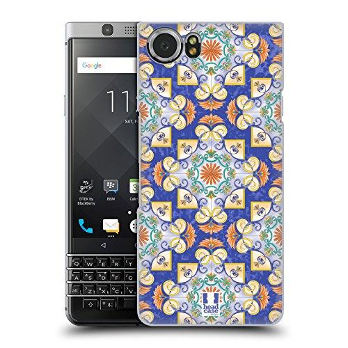 Head Case Designs Flower Ornaments Majolica Print Hard Back Case for BlackBerry KEYone / Mercury (Majolica Berries)