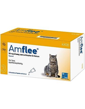 amflee 50 mg gato de dosis único pipetas, 3 unidades