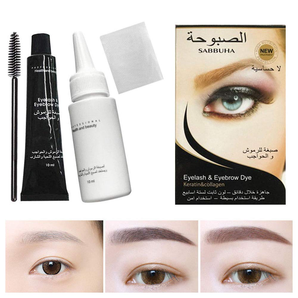 Amazon Ocamo Eyelash Brow Dye Professional Waterproof