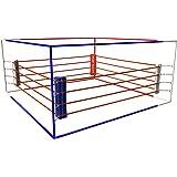 """ring de boxe """"economy"""" 4,5 x 4,5 m"""