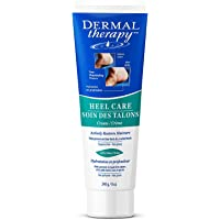 Dermal Therapy Heel Care Cream - Moisturizing Treatment that Repairs and Heals Dry, Rough, Cracked Heels and Feet (8 oz…
