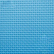 Foam rollmat stitching creeper pad stitching Puzzle Mats thick large bedroom tatami floor mats, Blue 4 pack ,60*60*2.0CM