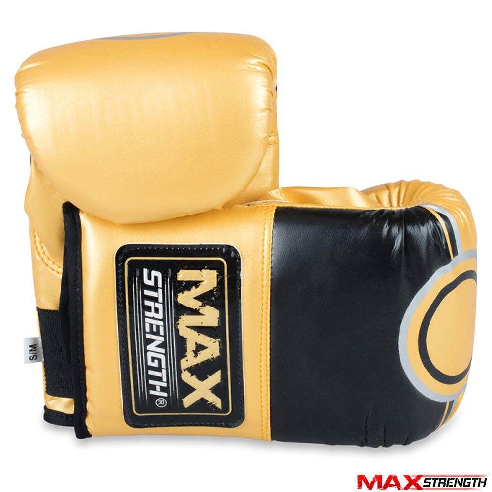 Max Strength Gants de Boxe Rex Cuir LXL//SM Grappling Punch Mitaines dentra/înement