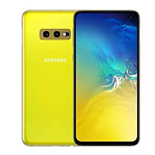 Samsung Galaxy S10e 128GB SM-G970F Single SIM (GSM Only, No CDMA) Factory Unlocked 4G/LTE Smartphone - International Version (Canary Yellow)