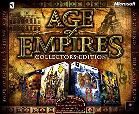 Age of Empires Collectors Edition (PC): Amazon co uk: PC